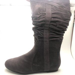 Ladies Shoes No Shoes Go Grey Micro Boot